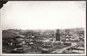 VINTAGE RPPC GHOST TOWN LEAD/ZINC MINING/MINE PICHER OKLAHOMA OLD PHOTO POSTCARD
