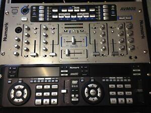 régie console vidéo karaoké numark DVD01 AVM02 AVM03 dj sono