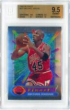 MICHAEL JORDAN 1994 Topps Finest #331 Jersey 45 BGS 9.5 GEM MINT Surface 10