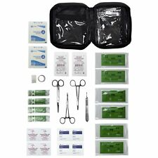 Advanced Surgical Suture First Aid Kit, Medical Trauma Survival Pack - 31 Piece