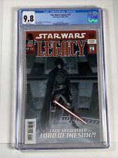 Star Wars Legacy #17 CGC 9.8 (Dark Horse comics) 1st Cade Skywalker as Sith Lord