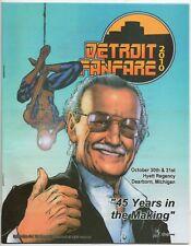 Detroit FanFare 2010 Stan Lee Convention Program Obama Spider-Man #583 Homage