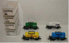 4x Fleischmann Kesselwagen: 5411K + 5413K + 5418K + 5419K in OVP!