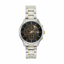 NWT SEIKO Men's Chronograph Two Tone Neo Sports Watch 43mm SKS543 $260