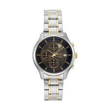 NWT SEIKO Men's Chronograph Two Tone Neo Sports Watch 43mm SKS543 $260