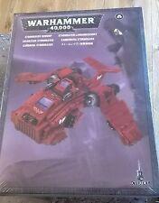 Warhammer 40K Cañonera Stormraven marines espaciales Nuevo y Sellado