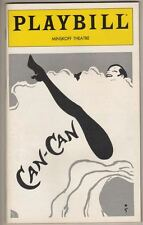 """Zizi Jeanmaire  FLOP  """"Can-Can""""  Playbill 1981 Revival  PREVIEW Avery Schreiber"""