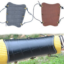Leather Archery Arm Guard Traditional Protector Gear Bracer Longbow Recurve Bow