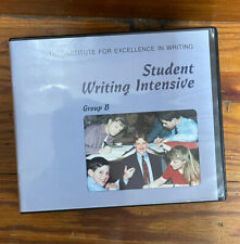 IEW Student Writing Intensive Group B DVD Set Institute for Excellence in Wr