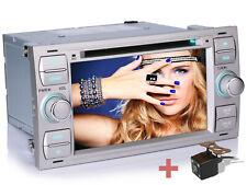 """Neues AngebotRückfahrkamera+ NAVIGATION 7"""" HD AUTORADIO DVD GPS 2 DIN Für FORD C/S-MAX FUSION"""