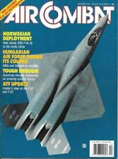 Air Combat Dec.1990 New Jersey ANG Norway Hungarian MiG Sukhois ATF F-22 F-23