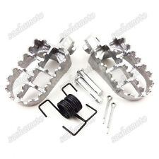Pit Dirt Motor Bike Footrest Footpegs Foot Pegs Rest For Yamaha TW200 PW50 PW80