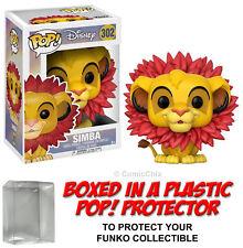 Funko POP! Disney ~ SIMBA (LEAF MANE) VINYL FIGURE w/Protective Case