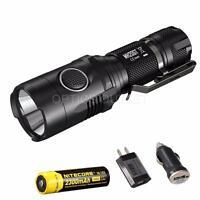Nitecore MH20GT 1000 Lumens Long Throw USB Rechargeable LED Flashlight + Battery
