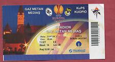 Orig.Ticket   Europa League 11/12  GAZ METAN MEDIAS - KUOPIO PS  !!  SELTEN