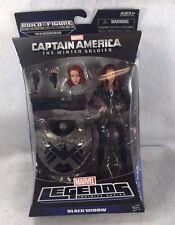 Hasbro Marvel Legends BLACK WIDOW Action Figure Mandroid BAF Winter Soldier