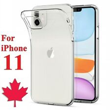 For iPhone 11 Clear Case - Premium Soft Thin TPU Transparent Back Cover