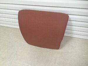 1 Frontgate Outdoor Patio Newport Delmar Round Sofa Back Cushion Terracotta NEW