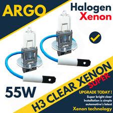H3 halógena 55w Bombillas delantero antiniebla 12v Luz Transparente