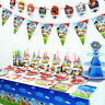 Paw Patrol Party Skye SUPPLIES Plate Cup Napkin Hat Balloons Birthday Decoration