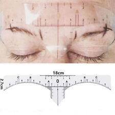 Microblading Einweg Augenbrauen Lineal Permanent Make Up selbstklebend 10 Stück