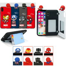 Avengers New Figure Card Door Case for Apple iPhone 11 XS Max XR XS 8 7 6
