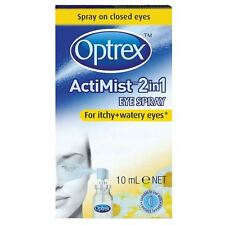 Optrex Acti-Mist 2in1 Eye Spray For Itchy & Watery Eyes 10ml - 3 Pack
