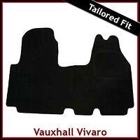 Vauxhall Vivaro Mk1 2001-2014 Fully Tailored Fitted Carpet Car Floor Mat BLACK