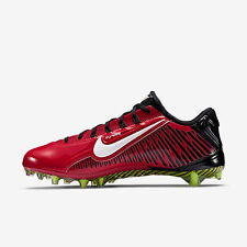 NIKE VAPOR CARBON ELITE 2.0 FOOTBALL CLEATS RED/BLACK/WHITE SIZE 13 657441-602