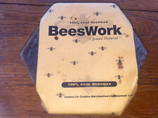 One Pound 100% pure natural Beeswax bees wax by BeesWork