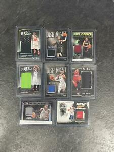 HUGE 2018-19 NOIR 8X Game Used Patch Lot - Westbrook Butler Russell Dragic More