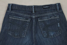 David Kahn Size 28 Dark Wash Boot Cut Stretch Jeans Inseam 28
