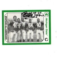 Bubba Smith Michigan State MSU Spartans football signed card DECEASED 1965!