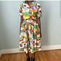 Vintage Together Dress  Patterned Women's
