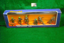soldatini toy soldier Herald Britains LTD Khaki Infantry scala 1:32 Ref. 4306