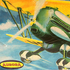 Aurora Kit No.116, Curtiss Hawk P-6E, 1/48 , MIB & 100% Complete, 1956