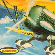 Aurora Kit No.116, Curtiss Hawk P-6E, 1/48 , MIB & 100% Complete, 1956