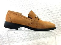 Apollo Loafer Horse Bite Slip On Casual Italy Tan Suede Men's Size 11