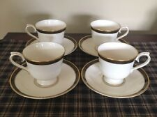 Lenox Lagdon Gate Set Of 4 Cups And Saucers. Excellent Condition