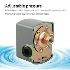 40-60Water Pressure Switch Square Plumbing PSI Adjustable Pump Control Well Tank