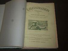 1905-1922 L'ILLUSTRATION THEATRALE FRENCH VOLUME - NICE PHOTOS - KD 3645
