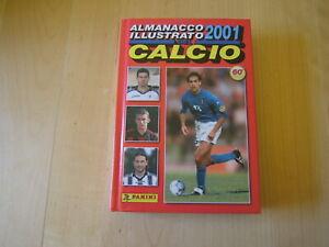 ALMANACCO ILLUSTRATO DEL CALCIO 2001 PANINI=NESTA COVER=ABCD =OTTIMO