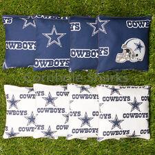 Cornhole Bean Bags Set of 8 ACA Regulation Bags Dallas Cowboys Free Shipping!