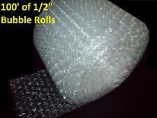 """100 Pies De Burbujas ® 12"""" de ancho! 1/2"""" grandes burbujas! perforado cada 12"""""""