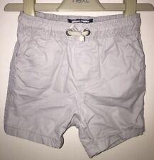 Boys Age 12-18 Months - Next 2017 Beige Shorts