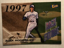 "1998 Fleer Ultra Alex Rodriguez ""Back To The Future"" #2 Of 15Bf Seattle Mariners"