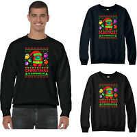 Christmas Is Among Us Jumper,Imposter Funny Santa Hat Game Xmas Festive Gift Top