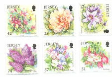 Jersey-Summer Flowers set of 6 mnh (2007)