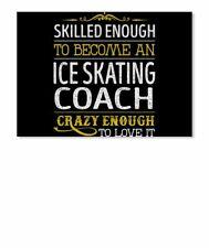 Ice Skating Coach Skilled Enough Sticker - Landscape