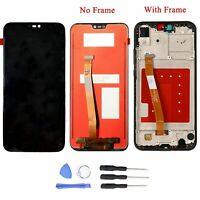 Écran LCD Tactile Screen Digitizer + Frame Pour Huawei P20 Lite Noir + Outils